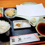 天銀 - 料理写真:天ぷら定食