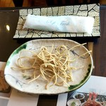 竹林 - お馴染みの揚げ蕎麦