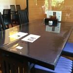竹林 - テーブル席