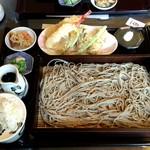 竹林 - 天ぷらつき 1300円