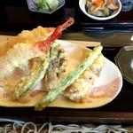 竹林 - 天ぷら お塩付き