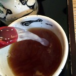 竹林 - そば湯