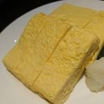 個室×鶏料理 鶏こまち さかいや - ふわふわ出汁巻き玉子