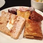 鎌倉やさいとRiche - ガトーショコラ・チーズケーキ・チョコムース・紅茶シフォン・塩キャラメルクレープ