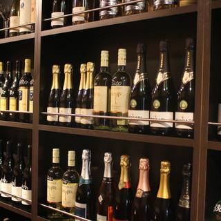 世界のワイン400種類以上はボトル\1900~