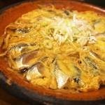 味楽 - 鰯 柳川鍋