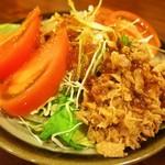 味楽 - 付き出し(ツナサラダ)