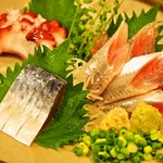 味楽 - 青魚三点盛