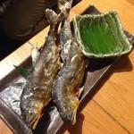 魚真 - 子持ち鮎