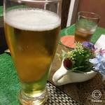 吉祥寺 YAKISOBA 四季 - 生ビール