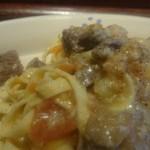 56577902 - ゴロリと塊の仔羊の旨味に、煮込まれた野菜の滋味が優しく重なる