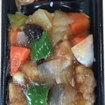 マザーズミートプラザ - 館ヶ森高原豚 酢豚丼
