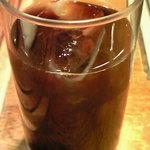 上野 太昌園 - サンデーランチ 1150円 のアイスコーヒー
