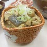 大川食堂 - モツ煮全体