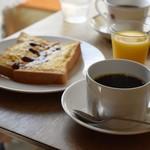 吉岡コーヒー - モーニングサービス