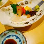 寿司栄 - 刺し盛り