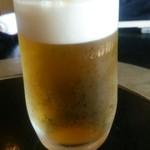 なか安 - 生ビール