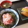 銀しゃり - 料理写真:まぐろとおすすめネタ海鮮丼(\580税込み)