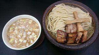 自家製麺 工藤 - 濃厚煮干しつけ麺 並盛