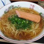 松乃家生麺 - 素ラーメン+えび天