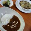 シャムロック - 料理写真:カレードリアとスパイスカレーの2ショット