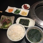 清江苑 - 定食セット750円