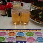 ふきや - 「はかた味のタウン」記念クーポンと貰ったグラスビール
