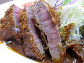 洋食の朝日 - ビフカツ 1300円