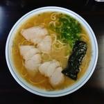 ラーメン げんこつ家 - ラーメン大盛650円(2016.9-①)