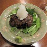 あずまし亭 - 鹿肉のハンバーグ2016.09.26