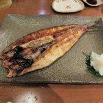 あずまし亭 - ホッケ開き2016.09.26