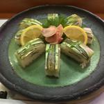 いち松とらや寿司 - いち松とらや寿司(鹿児島県姶良市加治木町本町港町)きびなご鮨 980円