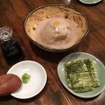 笑日志 - そばがき(絹挽き)650円