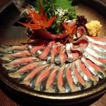 56595214 - 秋刀魚のお刺身♡♡