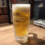 牛庵 - 生ビール