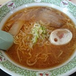 ちび食堂 - ラーメン(みそ)(650円)