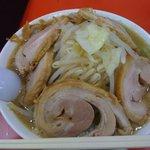 ジャンクガレッジ 西船店 - ラーメン大豚W野菜増し(1,020円)