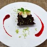 ペペロッソ - エスプレッソ風味のチョコレートケーキ