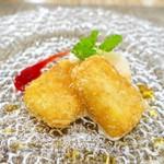 ペペロッソ - カスタードクリームのフリット