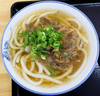 讃岐うどん製麺 中萩店 - 和牛肉うどん