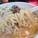 九州とんこつの うま馬 - 麺 アップ!                          28.9.21