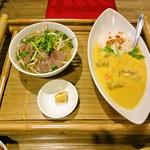 HANOI CORNER DINING BAR - チキンカレーライスセット(チキンカレーライスとフォー)