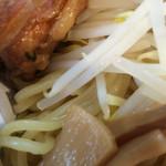 ラーメン寿や - 濃厚魚介豚骨 幸せいっぱいつけ麺 大盛(2.5玉 ) ライス付き 1080円