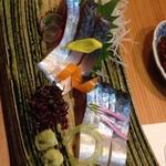 下町割烹とめだて - 27年11月 この日の〆鯖は抜群に旨かった~ 二日連続で食べました(^^;