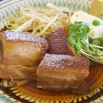 レストラン まるみ屋 - 料理写真:650円『とろとろラフテー』+150円『ライス』2016年9月吉日