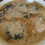 滋魂 - 料理写真:岩のり中華 麺大盛り 鬼脂