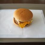 ファーストキッチン - 料理写真:「ベーコンエッグバーガー」です。