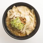 なおじ - 味噌ワンタンラーメン