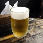 がむしゃら - 生ビール530円