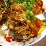 福ちゃん - 肉玉そば760円